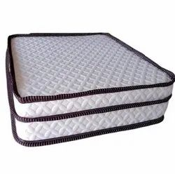 Coir and Foam Brown And White Spring Bed Mattress, Size/Dimension: 6 X 6 Feet, Thickness: 8inch