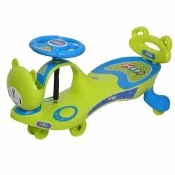 Peep Peep Blue Swing Car With Back Support