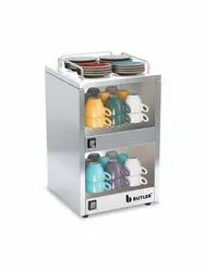 Stainless Steel Buffet Food Warmer Cup Warmar, For Restaurant, Size/Dimension: 360x320x550mm