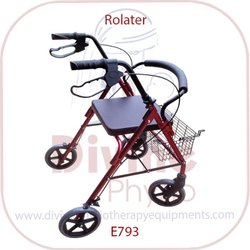 Walker Rollator With Foldable Type