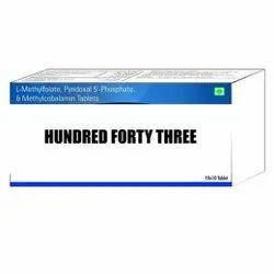 L Methylfolate Pyridoxal 5 Phosphate & Methylcobalamin Tablets