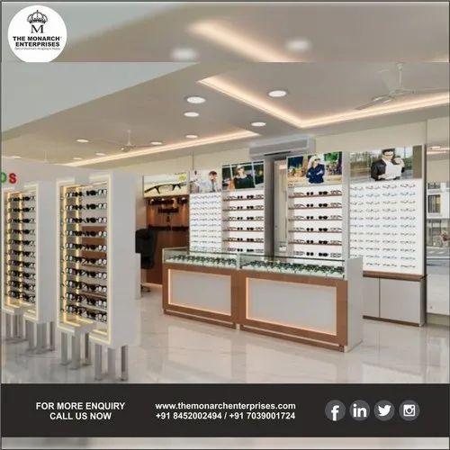 Latest Spectacles Showroom Interior Design - New