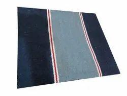 Blue 4x6feet Floor Cotton Carpet
