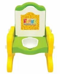 Green Front Baby Potty Chair