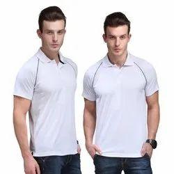 Men Fancy White T Shirt
