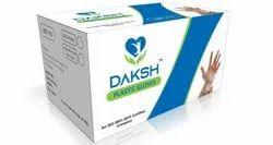 Daksh Disposable Plastic Gloves