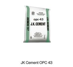 Grey Jk Super Cement Opc, Packaging Size: 50KGS, Grade: 43