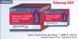 Rabeprazole and Sustained Release Domperidone Capsules