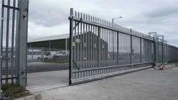 Sliding Exterior Industrial Gate