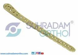 3.5mm LCP Medial Distal Tibia Locking Plate Low Bend