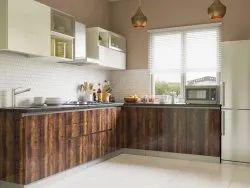 Transylvania L Shaped Modular Kitchen Designs Service