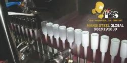 Stainless Steel Base Coat Glass Bottle Coating Plant