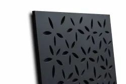 Floral Square GYPSONIC GRG DECORATIVE PANEL CEILING WALL TILES