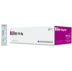 SD Biosensor Covid 19 Rapid Antigen Test Kit, ICMR Approved