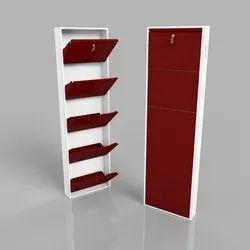 Home Texa Brown Metal Shoe Racks, Shoe Rack Capacity: 15 Pairs, 5