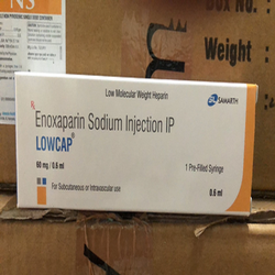 Lowcap Enoxaparin Injection 60 mg