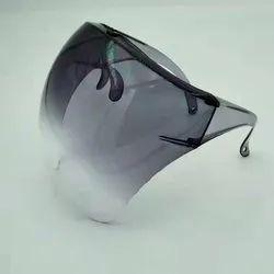Anti Fog Black Hallmark Face Shield