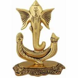 Gold Plated Unique Ganesha Statue