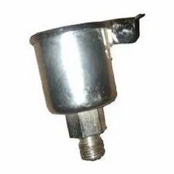Oil Cup for Agarbatti Making Machine Piston Set - Silver