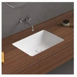Ceramic Table Top Latina Under Counter Basin, For Bathroom