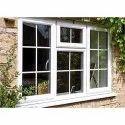 White Wooden Lesso Upvc Windows