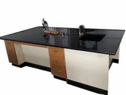 Rectangular Biology Mica Laboratory Table, For Bio Lab