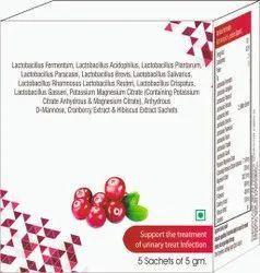 Lacotobacillus Fermetum, Lactobacillus Acidphilus, Reuteri Etc Sachet
