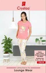 Cotton sleepwear Women Nightwear with pocket, Size: s to xxl, Age Group: 18-50