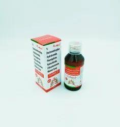 Cufset D Dextromethorphan I.P. + CPM I.P. + Phenylepherine, 100 ml