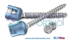 Single Lock Polyaxial Screw