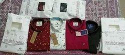 Printed Mens Cotton Shirts