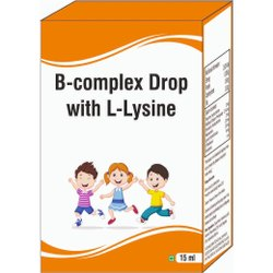 B- Complex Drop With L- Lysine