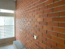 Red Clay Wall Cladding Tile, For Decoration