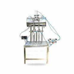 Pet Soda Bottle Filling Machine 2 Head
