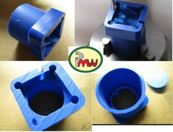 CNC Turned Plastic Machined Components