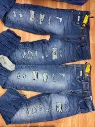 Denim rough Mens Jeans, Waist Size: 32