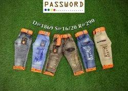 Passworld Boys Dusty Denim, Age Group: 1-3 Years