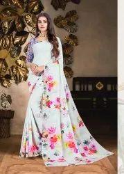 Floral Digital Printed Saree