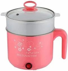Local Stainless Steel Electronic Cooker 5ltr, For Personal, Red