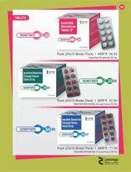 Isosorbide Mononitrate Prolonged Release Tablets