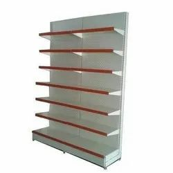7 Shelves Side Wall Display Rack