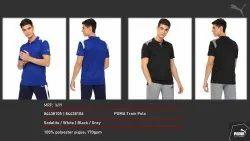 Polyester Black Puma Tshirt Distrubutor, Age Group: Mens