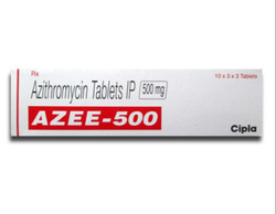 Azee 500 mg Azithromycin Tablet