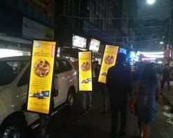 LED Look Walker, For Outdoor Advertising