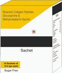 Bioactive Collagen Peptides, Glucosamine & Methylcobalamin Sachet