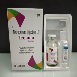 Tronum Meropenem Injection IP 1gm