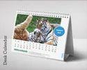 Paper Desk Calendar Printing Service, In Pan India