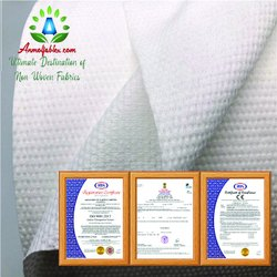 Spunlace Non Woven Fabric 40GSM For Wipes