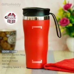 GDGBI - 1259 Stainless Steel Insulated Vacuum Smart Suction Travel Mug 400ML