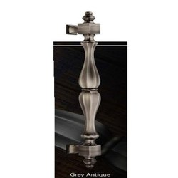 Archie Grey Antique Brass Pull Handles
